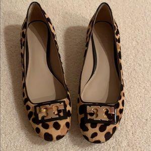 Tory Burch GIGI leopard print shoe